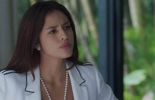 No sábado (6), Laura (Yanna Lavigne) mandará Sampaio terminar seu serviço contra Gabriel (Foto: TV Globo)