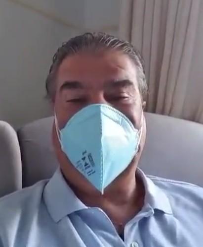 'Não tinha força nem para fazer a barba', diz senador Nelsinho Trad diagnosticado com coronavírus