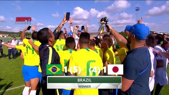 Sonho olímpico e amizade com rival: Pedrinho, do Corinthians, vibra com experiência na Seleção