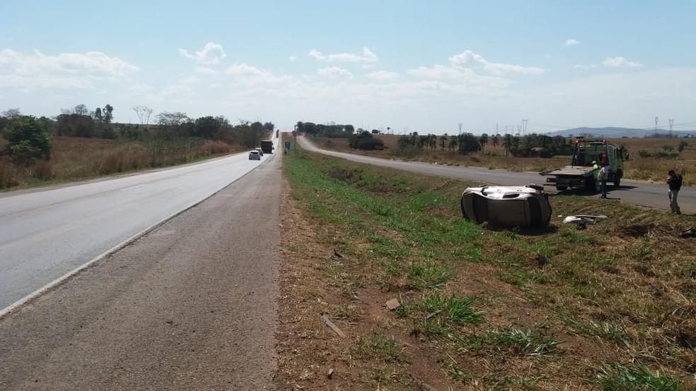 Traficantes se envolveram em acidente em Rondonópolis (Foto: PRF/Divulgação)