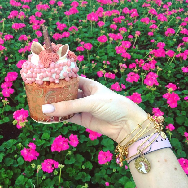 Cupcake de unicórnio (Foto: Instagram/Reprodução)