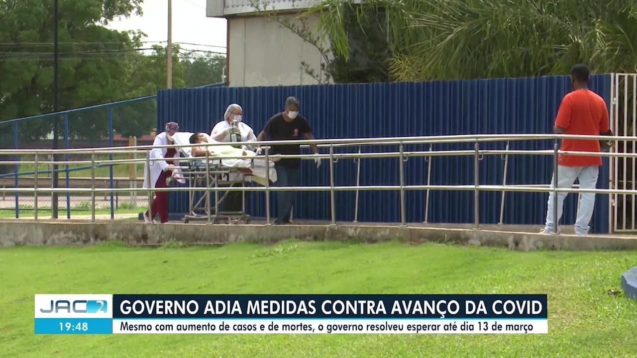 Governo do AC recua e adia medidas restritivas para combater avanço da Covid-19