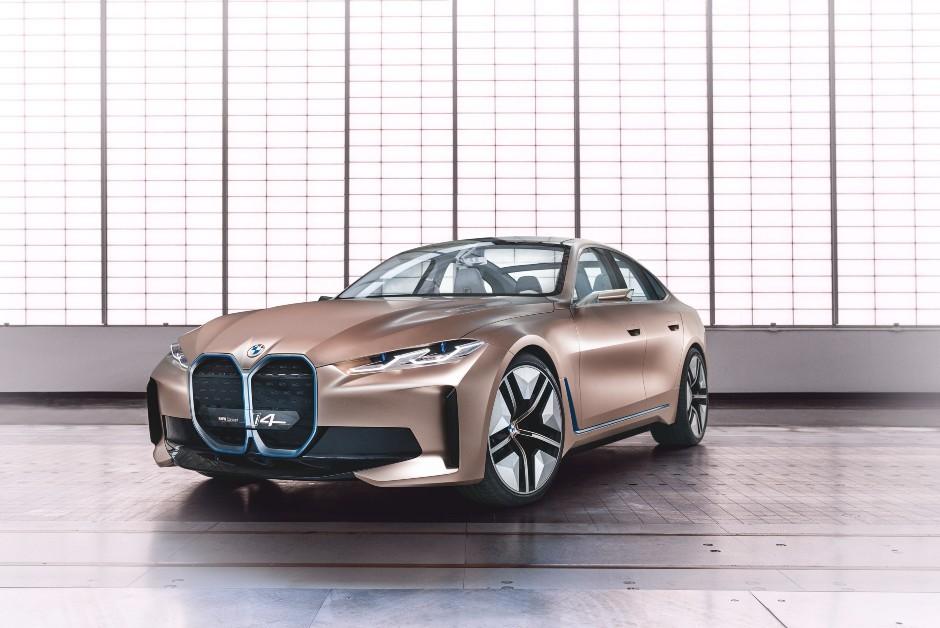 BMW Concept i4 - Frente (Foto: Divulgação/BMW)
