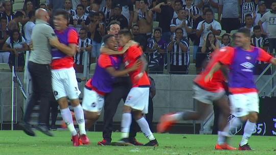 Os gols de Ceará 1 (5) x (6) 1 Atlético-PR pela terceira fase da Copa do Brasil