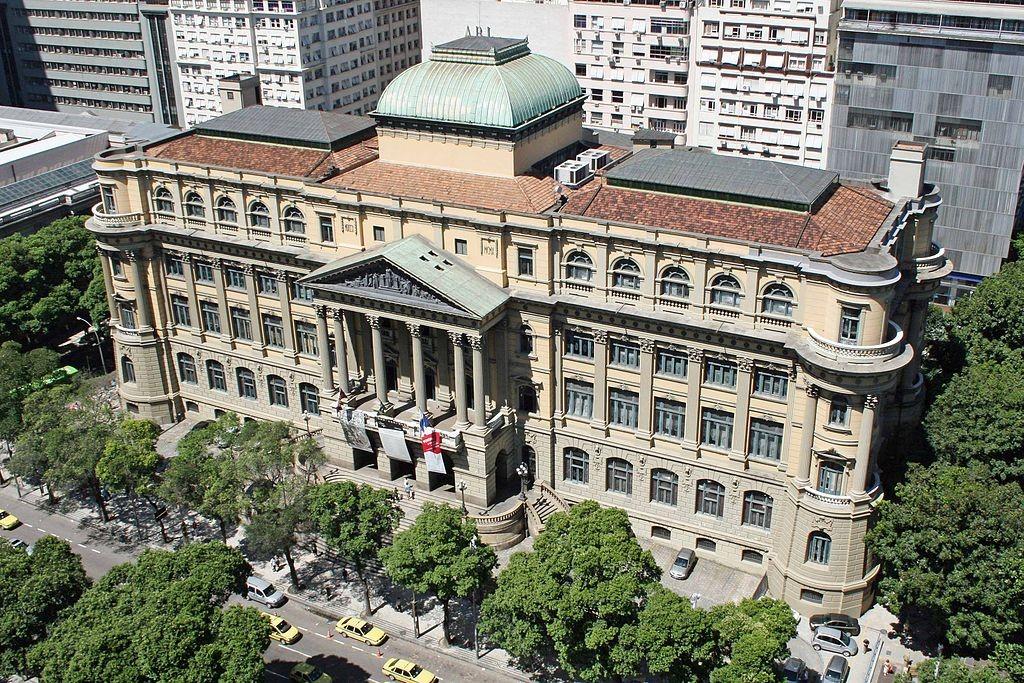 Fachada da Biblioteca Nacional (Foto: Wikimedia Commons)