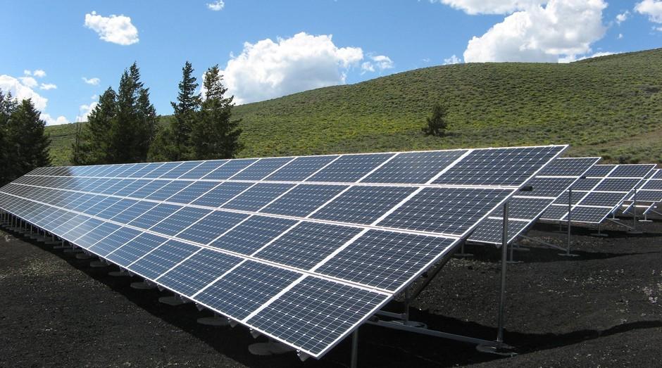 Energia solar, fotovoltaico (Foto: Reprodução/Pexel)