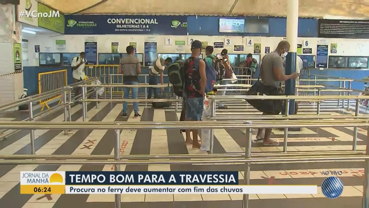 Saiba como está o movimento no terminal de São Joaquim na manhã desta sexta-feira
