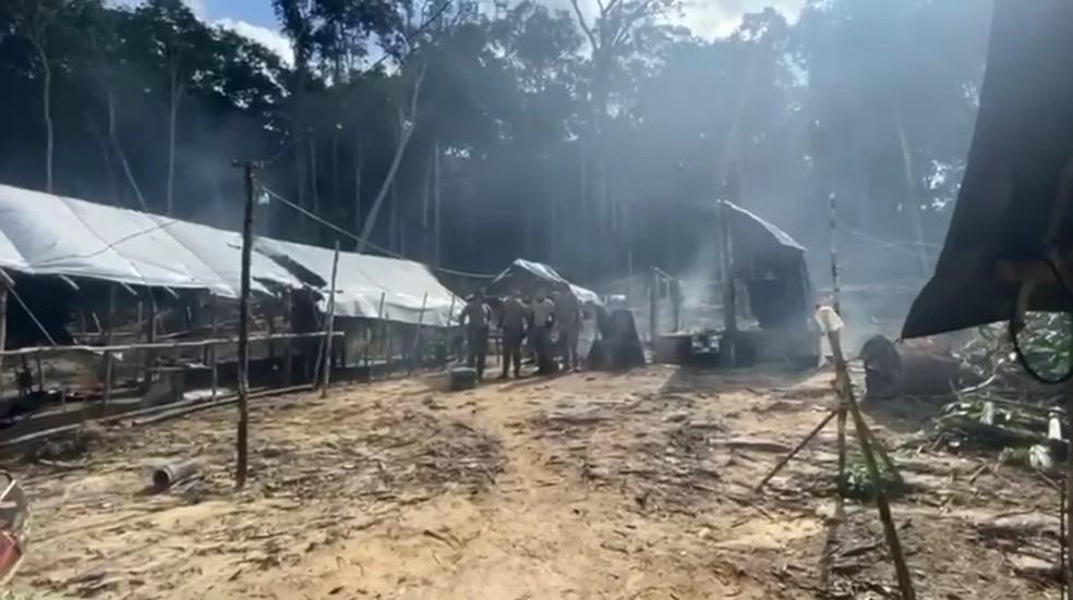 Várias outras ações nesse mesmo sentido vêm sendo deflagradas na região ao longo dos últimos anos — Foto: Reprodução/PF Pará