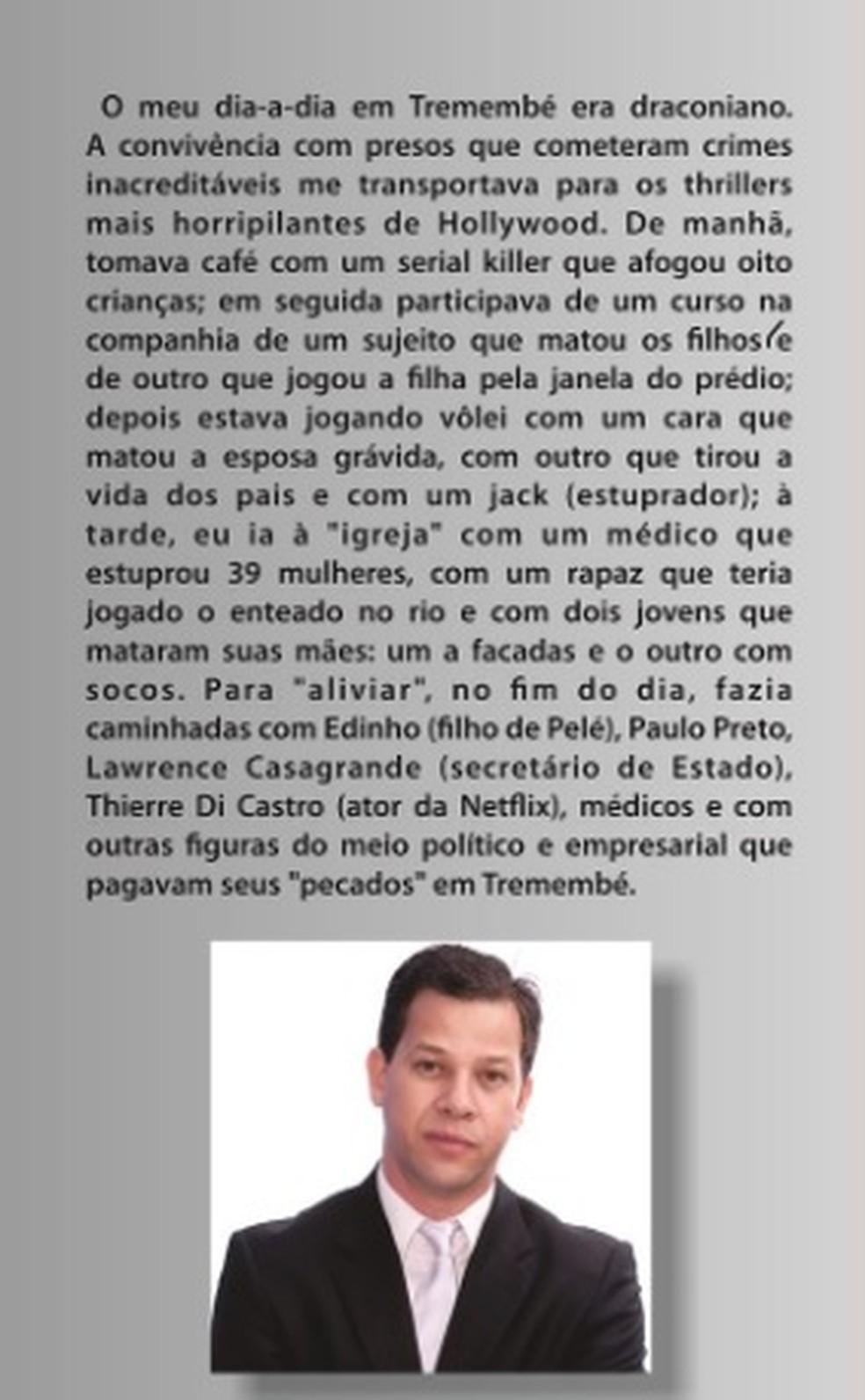 Prefácio do livro escrito pelo ex-prefeito Acir Filló — Foto: Reprodução