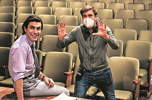 Mariano Mattos e Marcus Baldini (Foto: Aline Arruda)