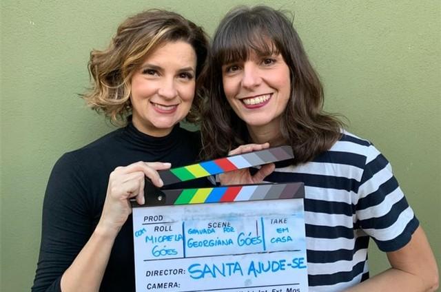 Micaela  e Georgiana Góes (Foto: Arquivo pessoal)