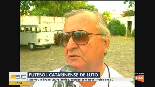 Morre o ex-treinador Lauro Búrigo em hospital de Florianópolis