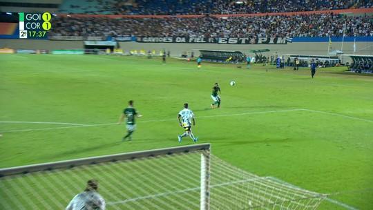 Goiás 2x2 Corinthians: veja os melhores momentos