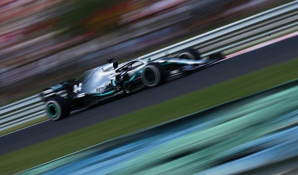 GP da Hungria Hamilton — Foto: Reuters