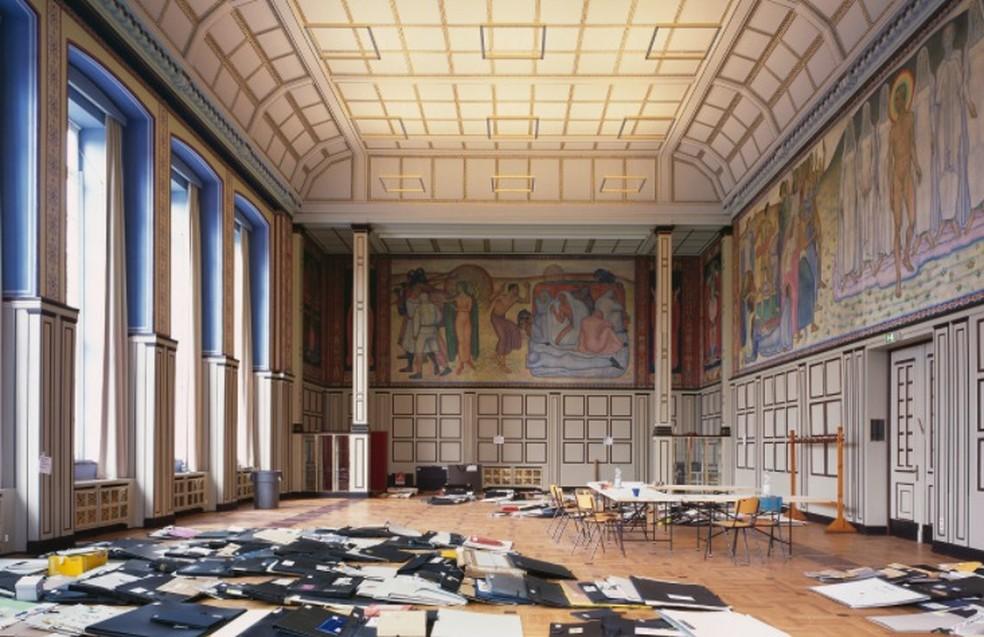Universidade de Belas Artes de Hamburgo (HfBK) oferece bolsa inusual — Foto: Klaus Frahm/HfBK
