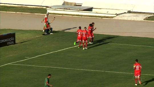 Volante e artilheiro, Mateus Silva  marca seu segundo gol em dois jogos pelo CRB