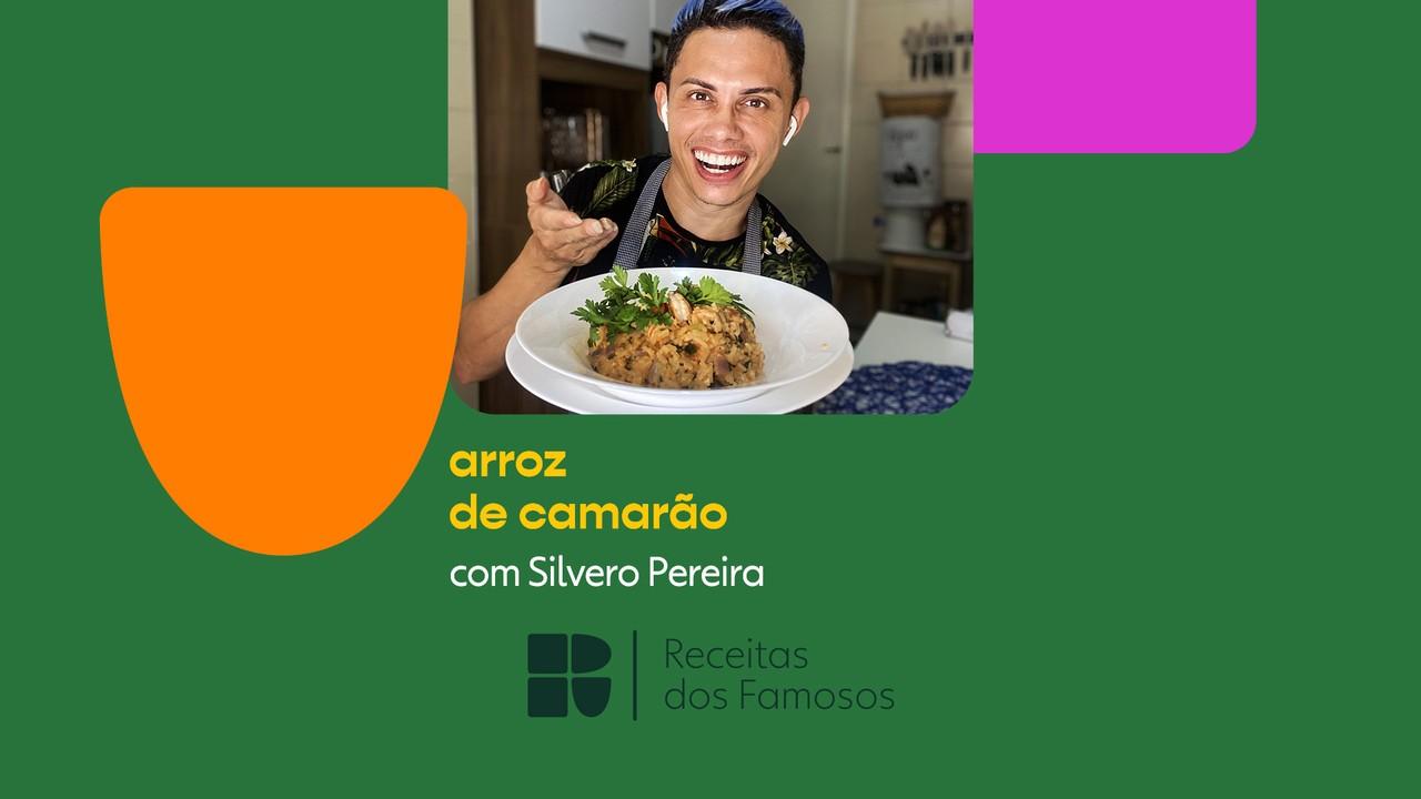 Silvero Pereira ensina a fazer arroz de camarão