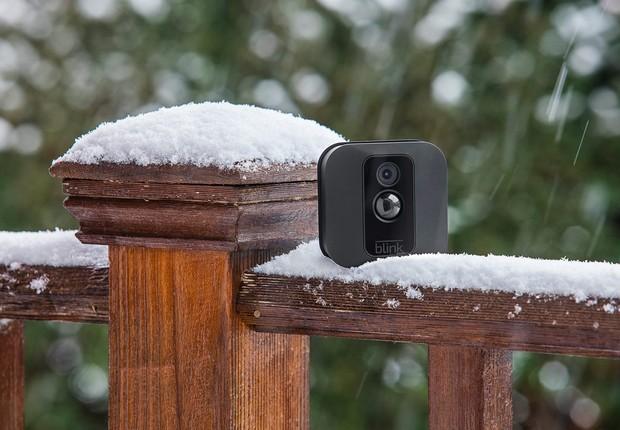 A Blink fabrica câmeras de segurança residencial  (Foto: Divulgação)