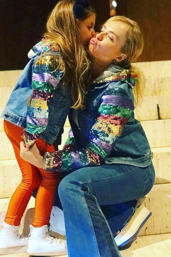 Angélica e Eva (Foto: Reprodução Instagram)