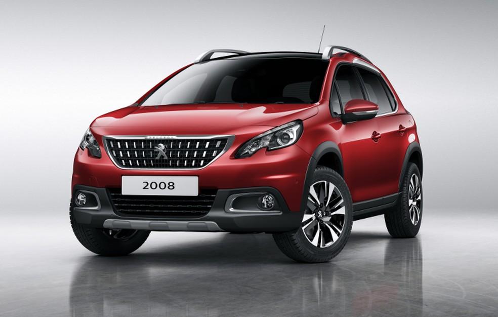 Peugeot 2008 — Foto: Divulgação/Peugeot