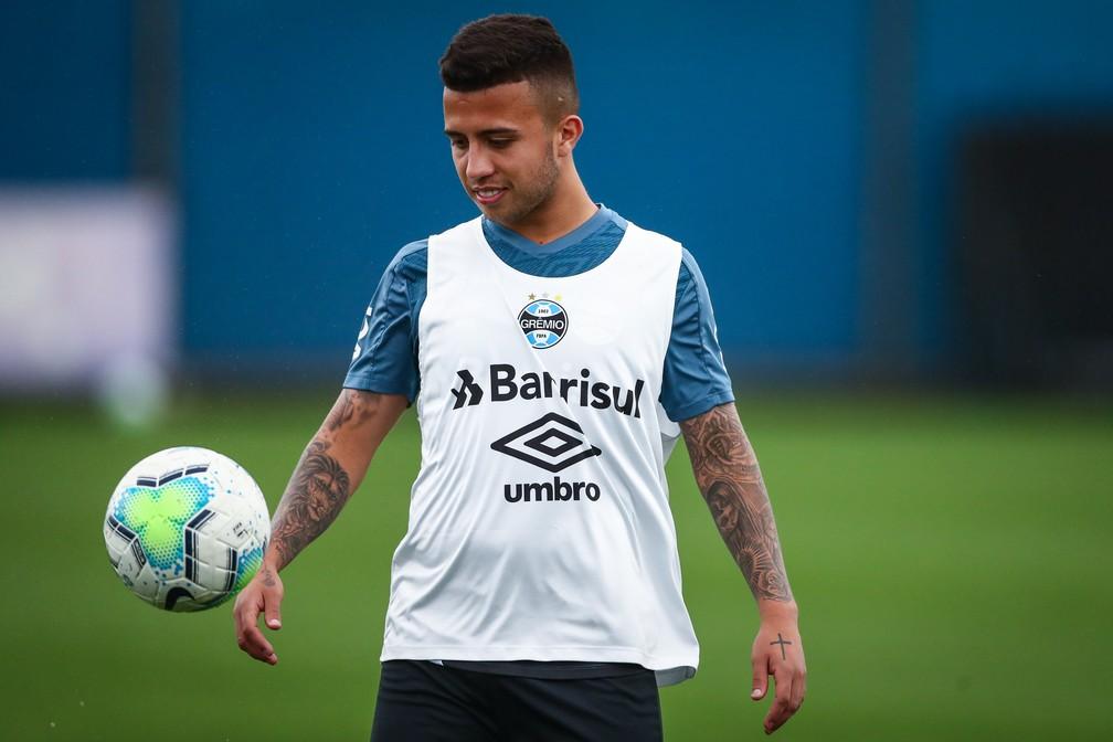Matheus Henrique, volante do Grêmio — Foto: Lucas Uebel/Grêmio