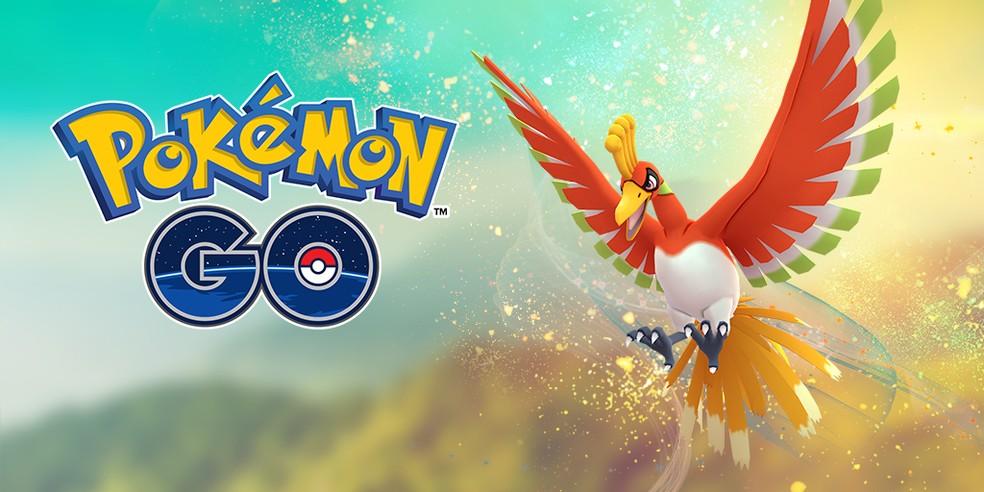 Ho-Oh volta a ter um evento exclusivo no Pokémon GO — Foto: Divulgação/Pokémon GO