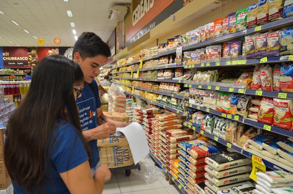 Levantamento de preços constata inflação de 1,23% nos supermercados em  Presidente Prudente | Presidente Prudente e Região | G1