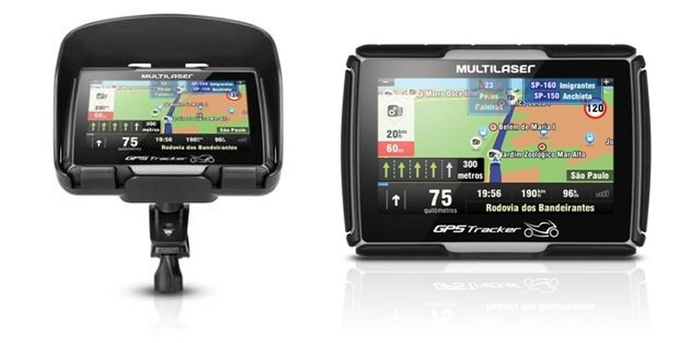 GPS eram muito utilizados principalmente no ramo automotivo. — Foto: (Foto: Divulgação/Multilaser)