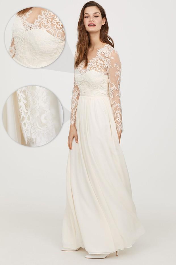 Vestido de casamento inspirado no de Kate Middleton (Foto: Reprodução)