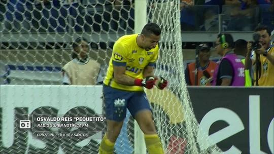 Redação AM: veja a classificação do Cruzeiro na Copa do Brasil na narração de Osvaldo Reis
