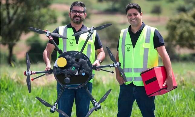 Manoel Coelho e Samuel Salomão, fundadores da Speedbird