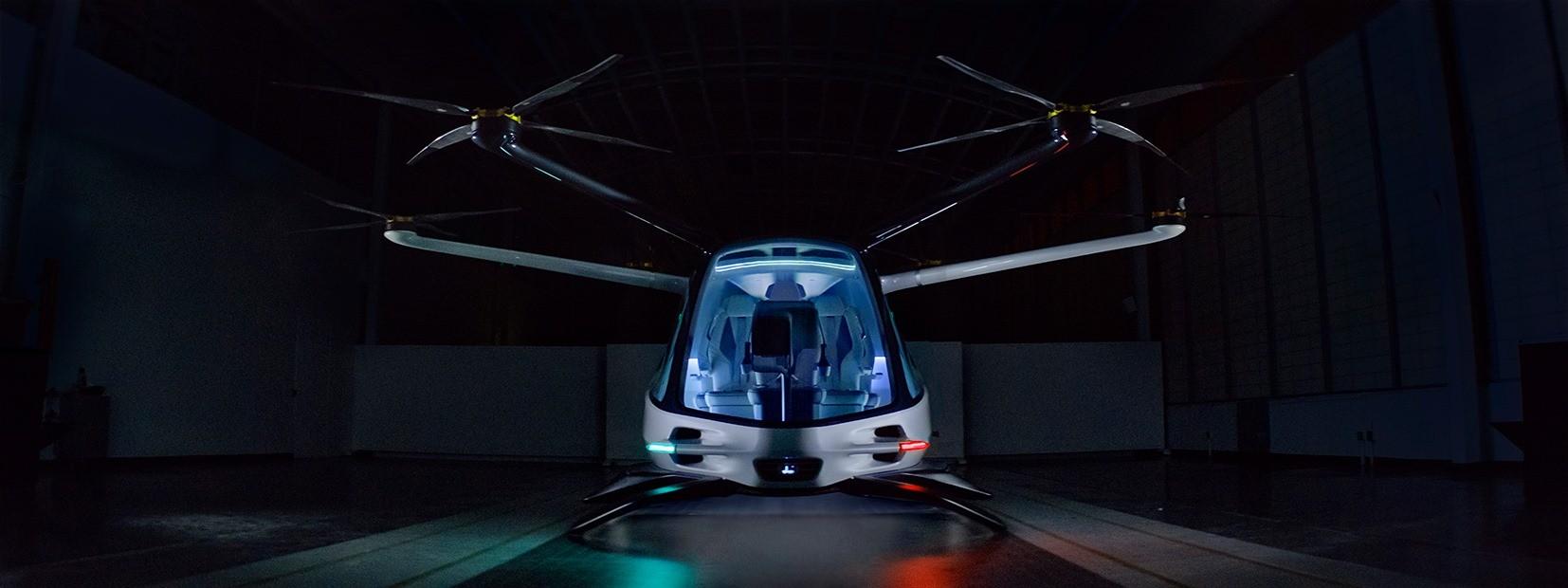 Startup apresenta carro voador movido a hidrogênio  (Foto: Divulgação)
