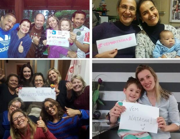 Família e amigos fizeram um álbum de fotos para recepcioná-la (Foto: Reprodução/Facebook)