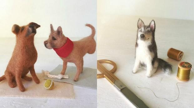 Cachorrinhos de lã são pura fofura (Foto: Reprodução)