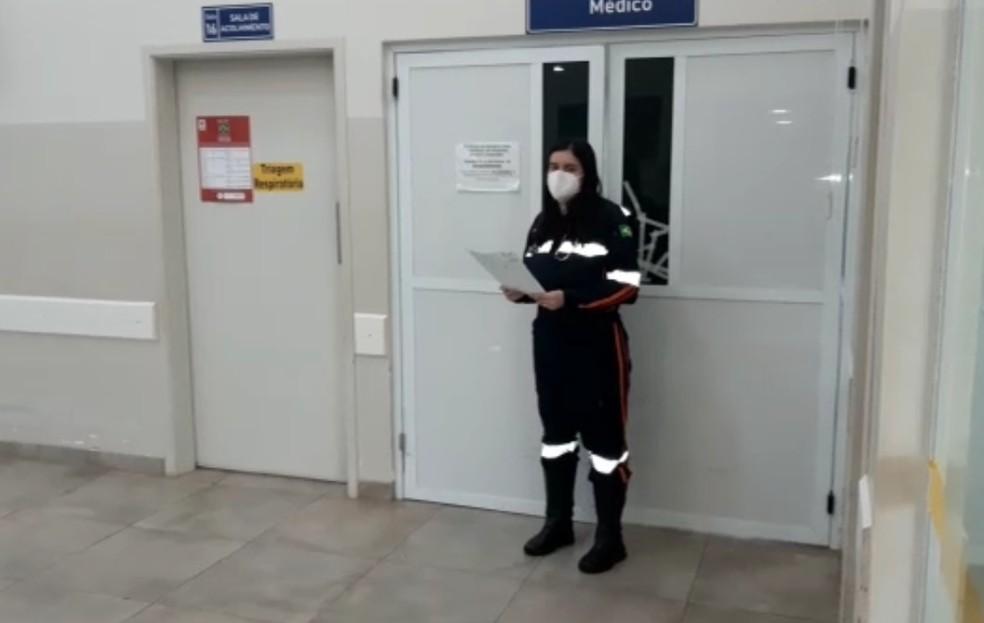 Médica do Samu assume atendimento no PS após constatar falta de plantonistas em Avaré — Foto: Arquivo pessoal