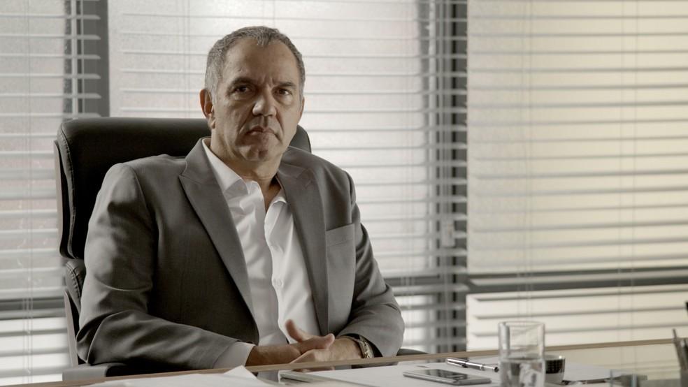 Eurico comanda a empresa Irmãos Garcia com pulso firme — Foto: TV Globo