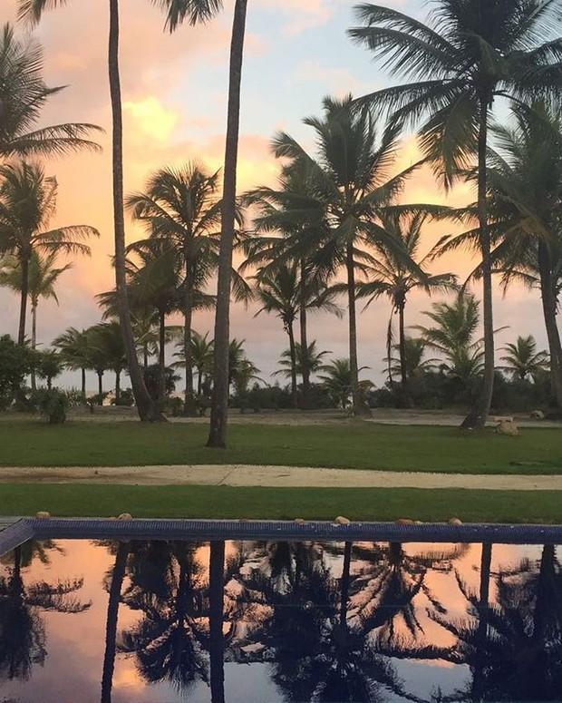 Luciana Gimenez mostra vista do hotel que está hospeada em Itacaré, na Bahia (Foto: Reprodução/Instagram)