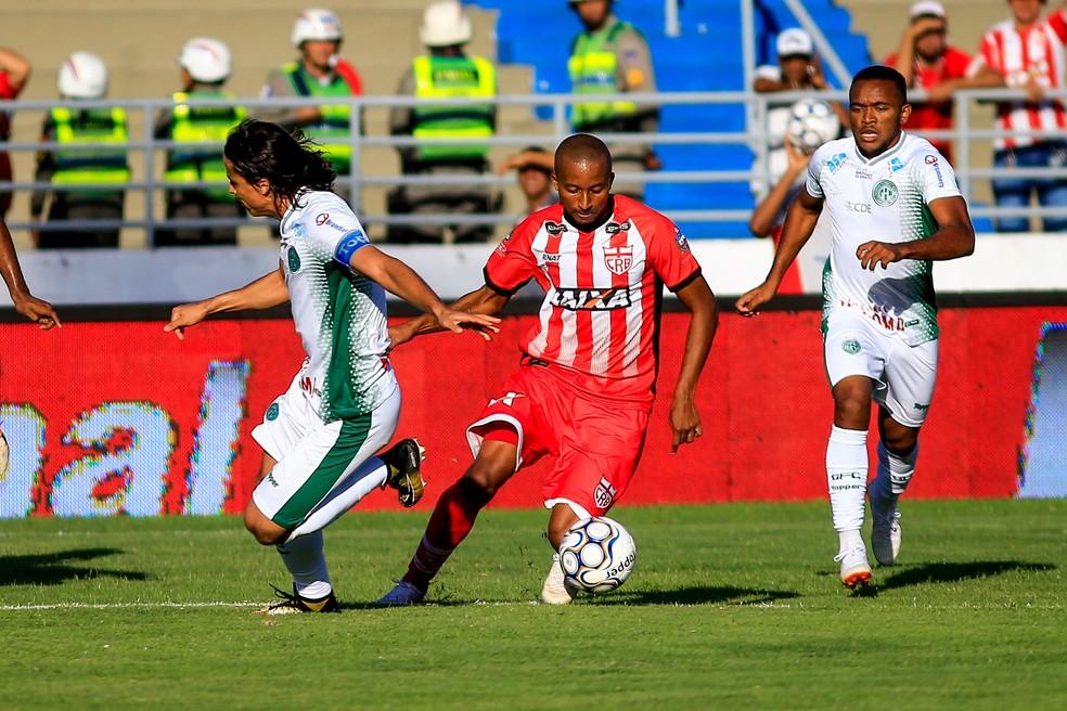 Willians Santana foi contratado pelo CRB neste sábado — Foto: Ailton Cruz/Gazeta de Alagoas