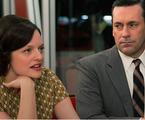 Peggy (Elizabeth Moss) e Don Draper (Jon Hamm) | Reprodução