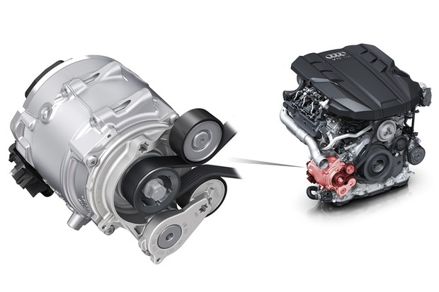 Motor Híbrido Parcial Audi (Foto: Divulgação)