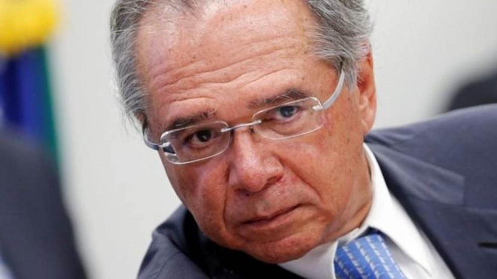 O ministro da Economia, Paulo Guedes, teve seu celular hackeado — Foto: Reuters
