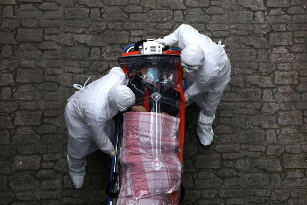 Muitas pessoas aparentemente saudáveis foram gravemente afetadas pela covid-19 — Foto: Getty Images