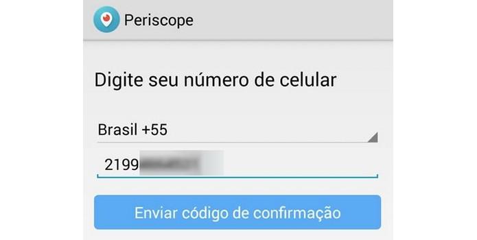 Periscope pode ser usado mesmo sem conta no Twitter (Foto: Reprodução/Raquel Freire)
