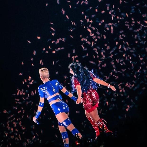 Gretchen e Katy Perry (Foto: Reprodução/Instagram)