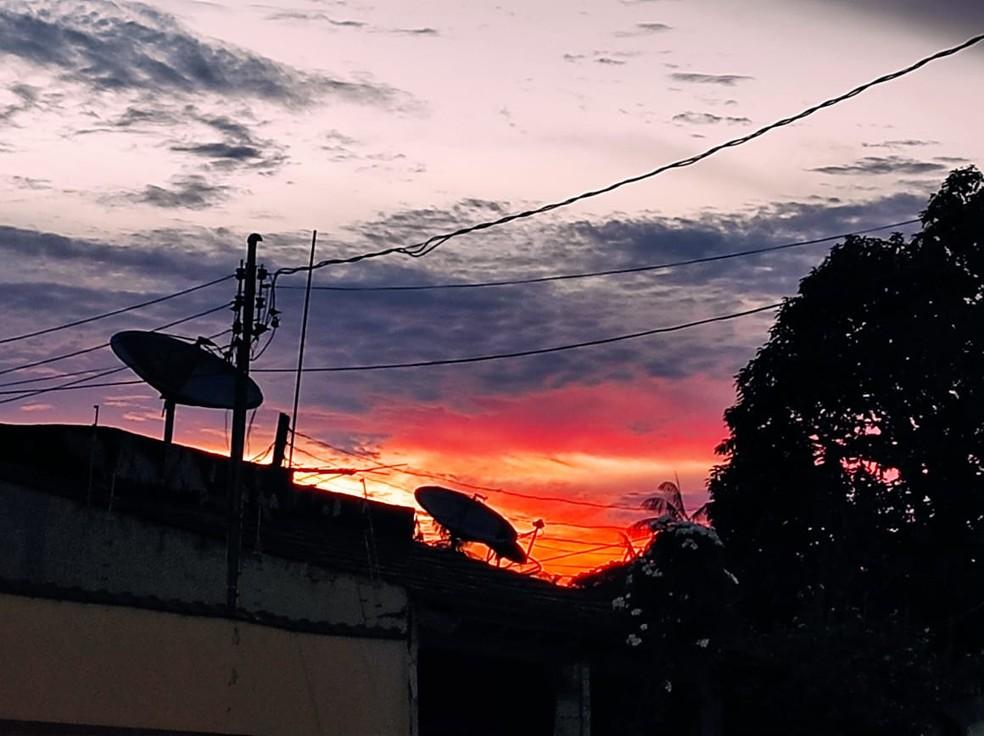 Sipam prevê segunda-feira (17) com tempo nublado e possibilidade de chuvas no Acre — Foto: Geisy Negreiros/ Arquivo pessoal