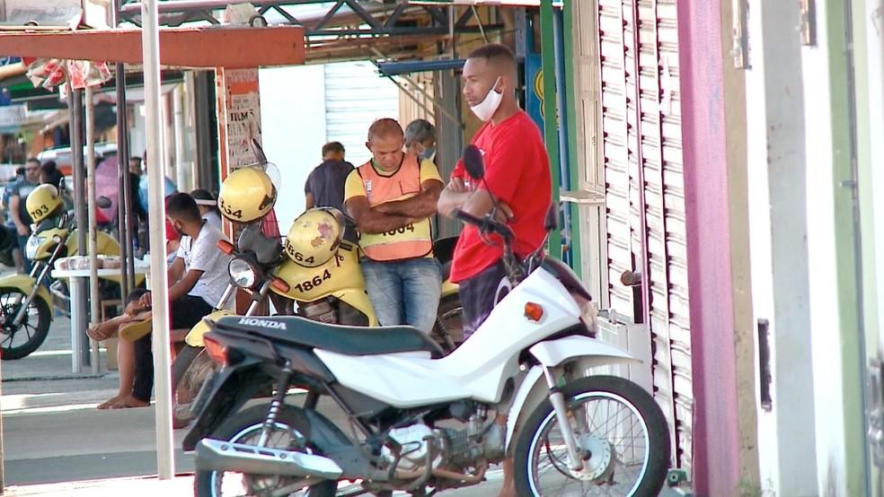 Isolamento social em Teresina  — Foto: TV Clube