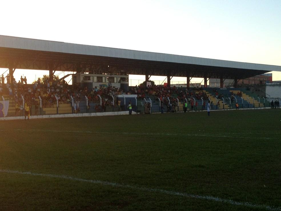 Estádio General Sampaio, em Porto Nacional — Foto: Vilma Nascimento/GloboEsporte.com