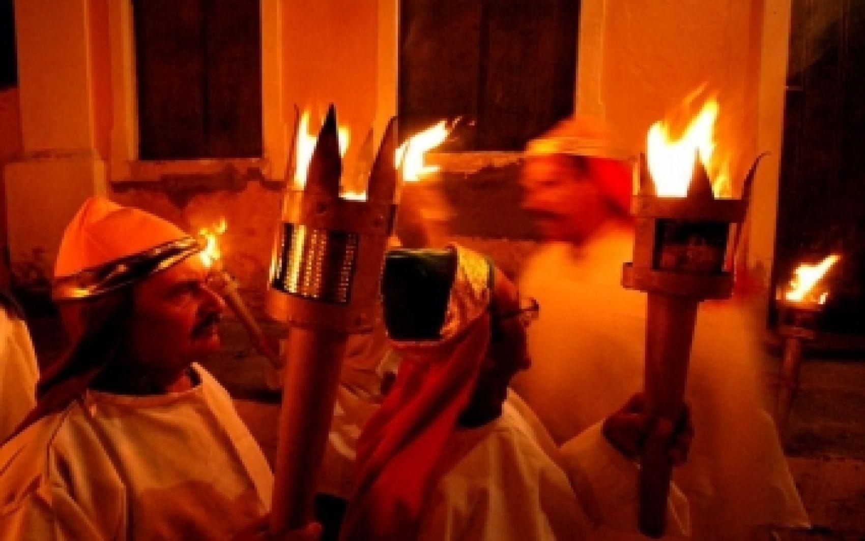 Procissão do Fogaréu acontece nesta quinta-feira em São Cristóvão