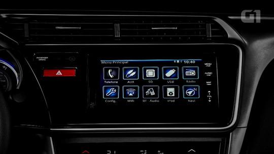 Honda City: G1 avalia central multimídia