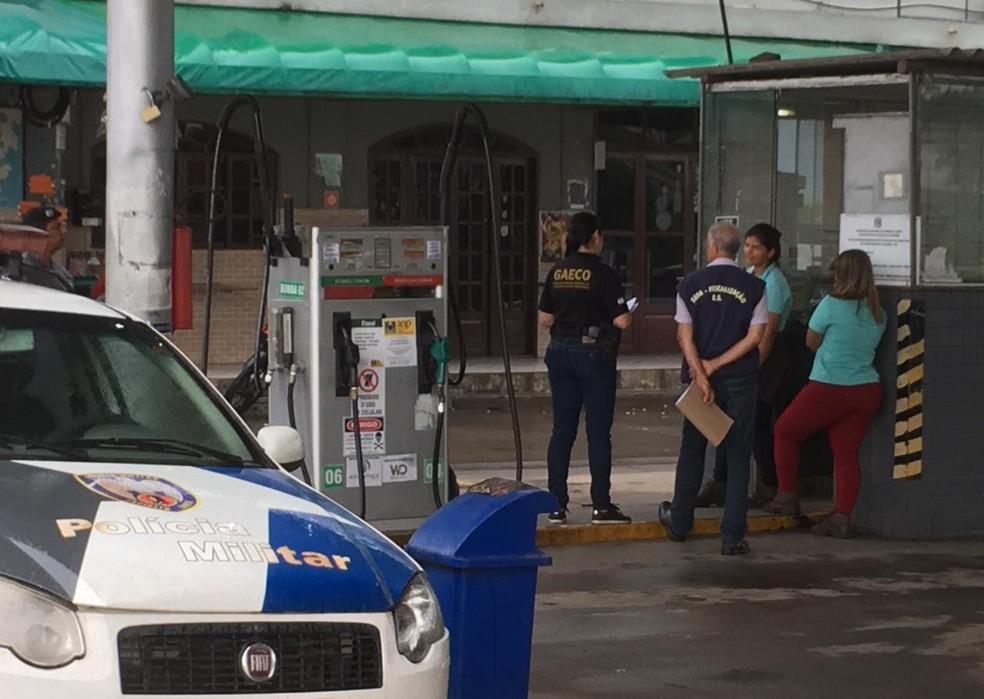 Operação mira organização criminosa no setor de combustíveis — Foto: Divulgação/ MP-ES